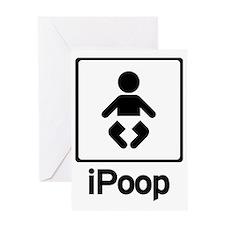 ipoop2 Greeting Card