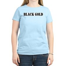 Black Gold Women's Pink T-Shirt