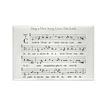 Gregorian Chant Rectangle Magnet (10 pack)