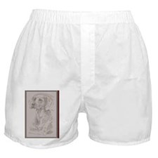 Weimaraner_KlineY Boxer Shorts