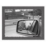 Bridge through mirror Small Poster