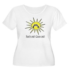 suns out guns T-Shirt