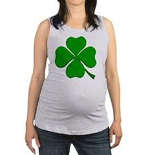 clover.gif Maternity Tank Top