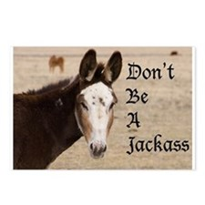 Don't be a Jackass Postcards (Package of 8)