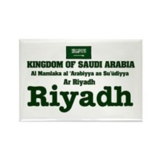SAUDI ARABIA - RIYADH Rectangle Magnet