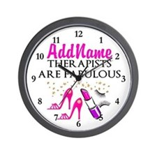 BEST THERAPIST Wall Clock