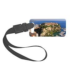 Monaco Castle Luggage Tag