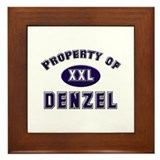 Property of denzel Framed Tile