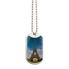 Paris - Eiffel Tower and Champ de Mars Dog Tags