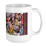 Hindu Deities Divine Dance - 15 oz. Large Lila Mug