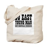 Cool Retro western Tote Bag