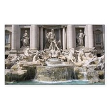 Trevi Fountain Decal