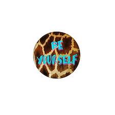 Giraffe Yourself Mini Button