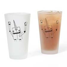 Robot Narwhal Drinking Glass