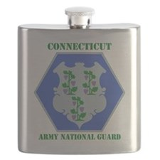 Connecticut ANG with text Flask