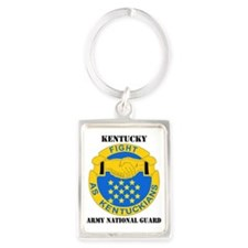 KENTUCKY ANG with text Portrait Keychain