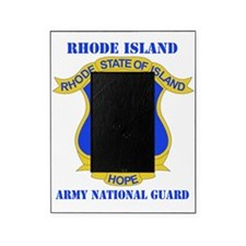 RHODE ISLAND ANG with text Picture Frame