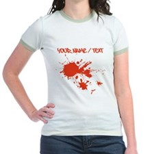 Red Ink Splatter T-Shirt