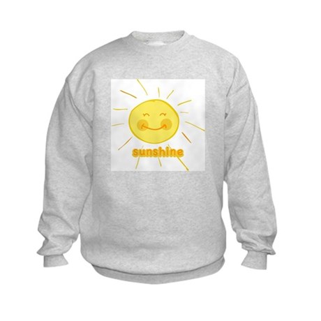 Smiley Sunshine Kids Sweatshirt