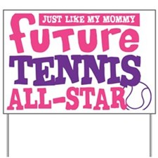 future all star GIRL Yard Sign