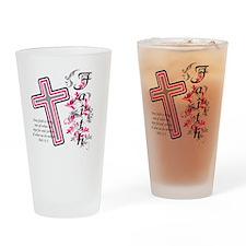faith 2 Drinking Glass