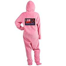 NotDisposableSuarishRGB Footed Pajamas