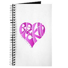 Breckin pink heart Journal