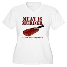 Meat is Murder Ta T-Shirt