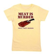 Meat is Murder Tasty Tasty Murder Girl's Tee