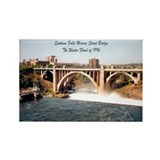 Spokane Falls Monroe St. Brid Rectangle Magnet (10