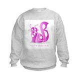 Saylor pink cat Sweatshirt