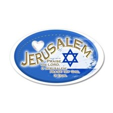Jerusalem Wall Decal