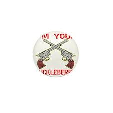 blk_Im_You_Huckleberry_6_Guns Mini Button