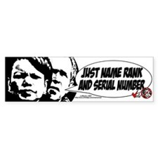 Bush and Condoleeza Bumper Bumper Sticker