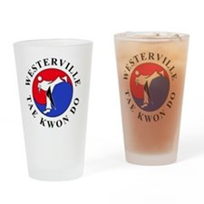 WTKD 2-D Logo 5inch Drinking Glass