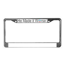 Image3 License Plate Frame