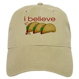 I believe in Tacos Baseball Cap