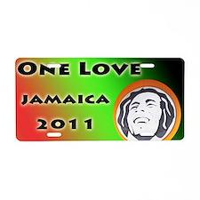 Bob Marley Tour Aluminum License Plate