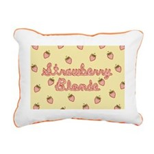 strawberry-blonde_12x18 Rectangular Canvas Pillow