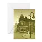 Antiqued Town Greeting Cards (Pk of 10)