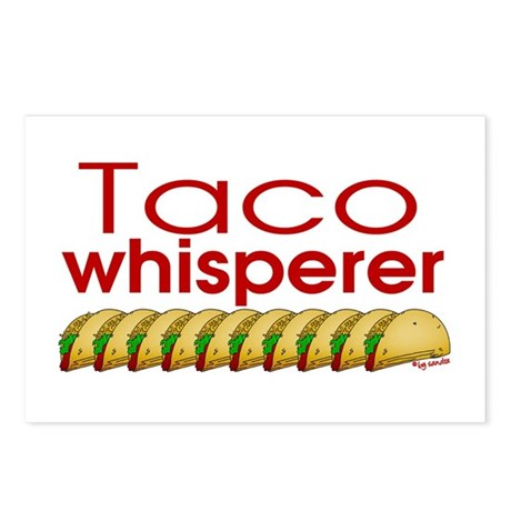 Taco Whisperer Postcards (Package of 8)
