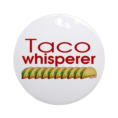 Taco Whisperer Ornament (Round)