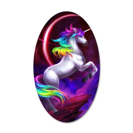 4.5x6.5_unicorndream 35x21 Oval Wall Decal
