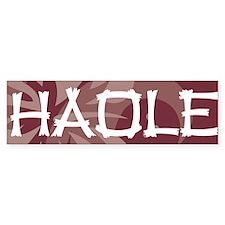 Haole21 Bumper Sticker