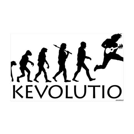 Ukevolution 35x21 Wall Decal