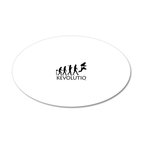 Ukevolution 20x12 Oval Wall Decal