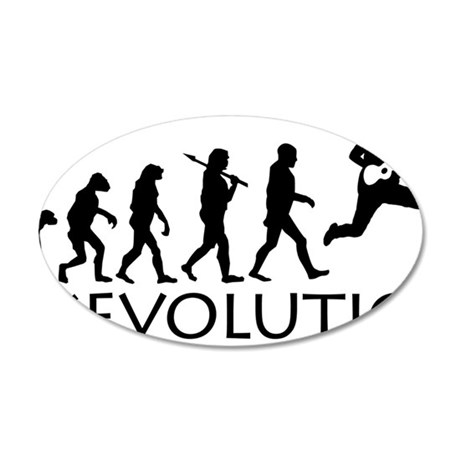 Ukevolution 35x21 Oval Wall Decal