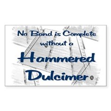 Hammered Dulcimer Decal