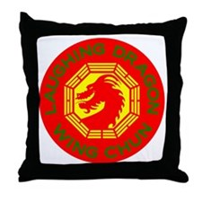 Laughing Dragon RYGF Throw Pillow