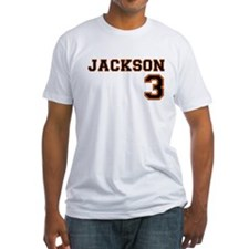 MUNI themed - 3 Jackson Fitted T-shirt